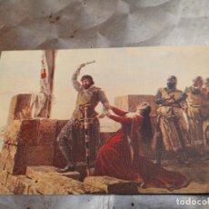 Postales: SERIE PINTURA HISTORICA Nº 7.-GUZMAN EL BUENO-CUBELL, INSTITUTO FARMACOBIOLOGIA -IFABI- GRANADA. Lote 269358473