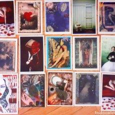 Postales: COLECCIÓN 15 POSTALES DE DISEÑADORES, FOTÓGRAFOS ESTADOS UNIDOS TIPO COLLAGE NUEVAS. Lote 272679718