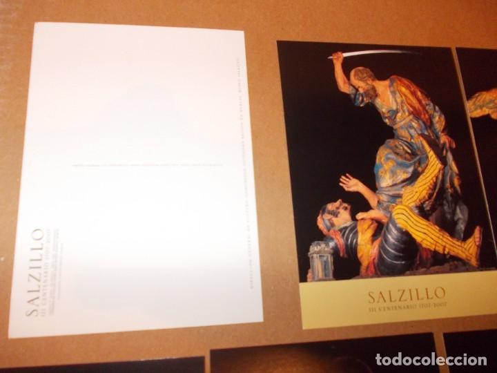 Postales: LOTE DE 15 POSTALES DE SALZILLO - Foto 5 - 274644998