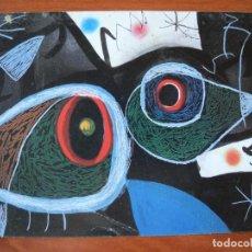 Postales: GALERIA SOTHEBY'S. OBRA DE JOAN MIRÓ. Lote 276778828