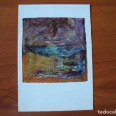 Postales: EXPOSICIÓ DE BERNAT ROCABERT. GALERIA PISCOLABIS.. Lote 276783258