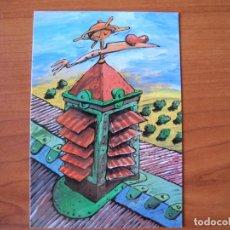 Postales: JEAN PIERRE GUILLEMOT US CONVIDA A LA INAUGURACIÓ DE L'EXPOSICIÓ DE JUAN CARTER. GALERIA PISCOLABIS. Lote 276784003