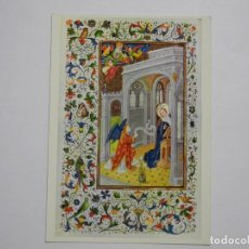 Postales: LIBRO DE HORAS, LLAMADO DE ISABEL LA CATÓLICA. BIBLIOTECA. PALACIO REAL MADRID N. 3. Lote 276934813