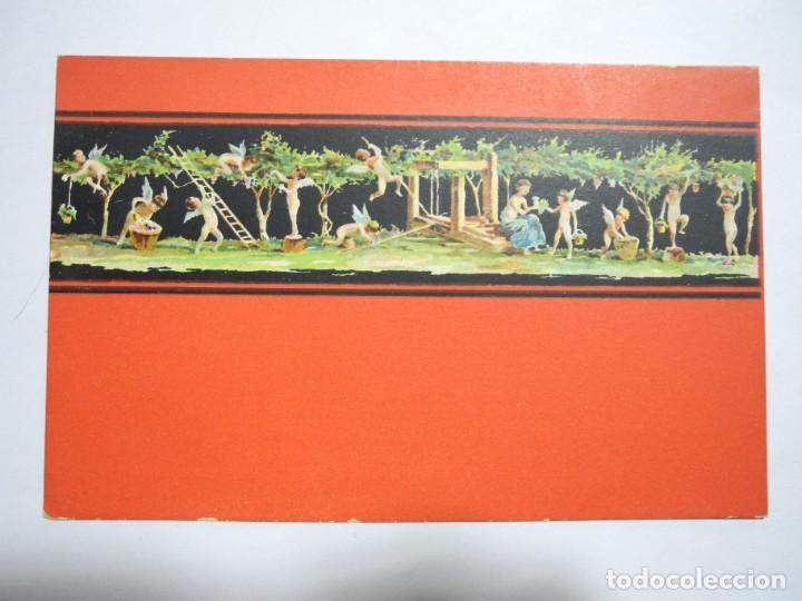 POMPEI. CASA DEI VETTII AMORINI VENDEMMIATORI. ED. R&C 1085/8 SIN CIRCULAR (Postales - Postales Temáticas - Arte)