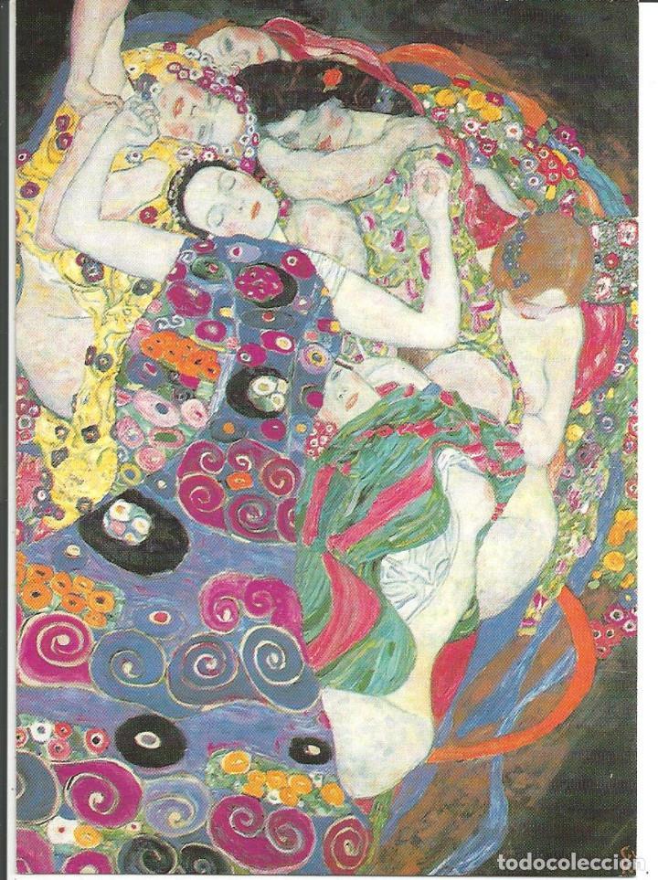 POSTAL OBRA *THE VIRGIN* DE GUSTAV KLIMT (1913) - MAGDA BOOKS (Postales - Postales Temáticas - Arte)