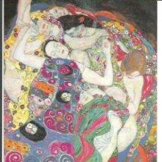 Postales: POSTAL OBRA *THE VIRGIN* DE GUSTAV KLIMT (1913) - MAGDA BOOKS. Lote 276996173