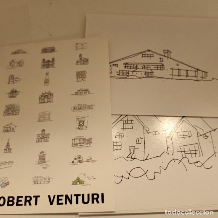 28 POSTALES DE ROBERT VENTURI, ARQUITECTURA / ARCHITECTURE, 11X17 CM, 2007 (Postales - Postales Temáticas - Arte)