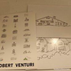 Postales: 28 POSTALES DE ROBERT VENTURI, ARQUITECTURA / ARCHITECTURE, 11X17 CM, 2007. Lote 277474898