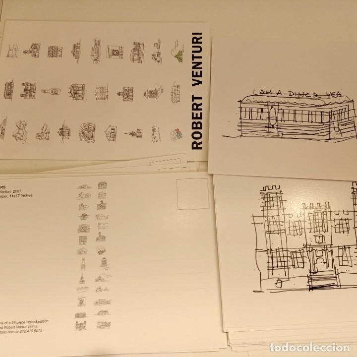 Postales: 28 POSTALES DE ROBERT VENTURI, ARQUITECTURA / ARCHITECTURE, 11x17 CM, 2007 - Foto 2 - 277474898