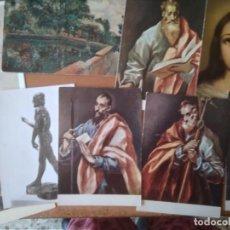 Postales: LOTE 20 POSTALES DE ARTE. Lote 277587188