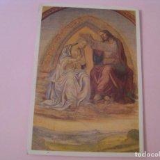 Postales: POSTAL DE ANTONIO BAZZI IL SODOMA. ABBAZIA DI MONTE OLIVETO MAGGIORE. CIRCULADA 1996.. Lote 279470313