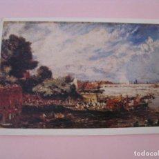 Postales: PUENTE DE WATERLOO. JOHN CONSTABLE. MUSEO DE VICTORIA Y ALBERT. INGLATERRA. CIRCULADA. 1978.. Lote 279471218