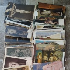 Cartoline: LOTE DE 185 POSTALES DE PINTURA COLOR Y BLANCO Y NEGRO DALI PICASSO GOYA VELAZQUEZ MURILLO ETC..... Lote 279588488