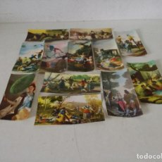 Postales: COLECCIÓN DE 12 POSTALES DE COLECCIÓN DE PINTURAS DEL MUSEO DEL PRADO, EXCLUSIVAS POPA, 20 X 10 CMS.. Lote 282185873