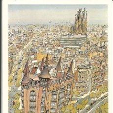 """Postales: POSTAL JORGE ARRANZ """"EDIFICIO LES PUNXES""""- SOMBRAS EDICIONES 1988 - N° 119. Lote 285327363"""
