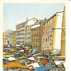 Postales: POSTAL JORGE ARRANZ * EL RASTRO *- SOMBRAS EDICIONES 1986 - N° 53. Lote 285327808