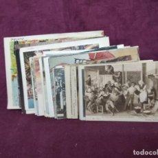 Cartoline: 75 ANTIGUAS POSTALES DE OBRAS DE ARTE EN DIFERENTES MUSEOS. Lote 287729293