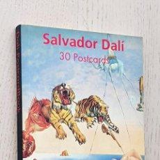 Postales: SALVADOR DALÍ. 30 POSTCARDS. Lote 288595908