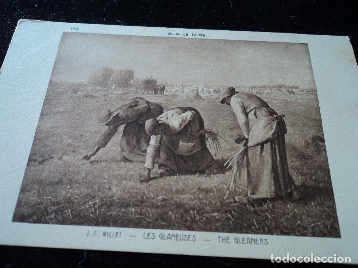 LES GLANEUSES, J. F. MILLET, MUSEE DU LOUVRE, 644, BRAUN & CIE. (Postales - Postales Temáticas - Arte)