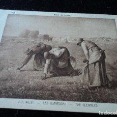 Postales: LES GLANEUSES, J. F. MILLET, MUSEE DU LOUVRE, 644, BRAUN & CIE.. Lote 288651303