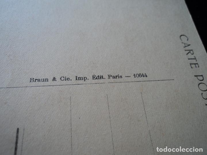 Postales: les glaneuses, j. f. millet, musee du louvre, 644, braun & cie. - Foto 2 - 288651303