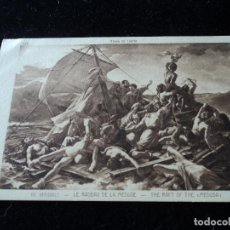 Postales: LE RADEAU DE LE MEDUSE,GH. GERICAULT, MUSEE DU LOUVRE, 338, BRAUN & CIE. Lote 288655773