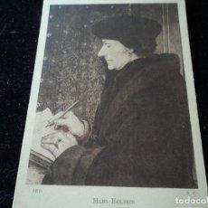 Postales: PORTRAIT D´ERASME, HANS HOLBEIN, MUSEE DU LOUVRE,12715. Lote 288656218