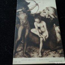 Postales: APOLLON ET DIANE, LUCAS CRANACK, MUSEE DE BRUXELLES,412 L NELS. Lote 288656783