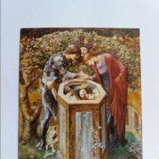 Postales: POSTAL - BURNE-JONES EDWARD - LA TETE MALEFIQUE. Lote 288662908
