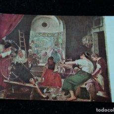 Postales: MUSEO DEL PRADO, FABRICA DE TAPICES DE STA. ISABEL, EDICIONES VICTORIA, N. COLL SALIETI. Nº 1000. Lote 289215458