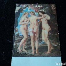 Postales: MUSEO DEL PRADO LA TRES GRACIAS EDICIONES VICTORIA N. COLL SALIETI. Nº 1017. Lote 289217773