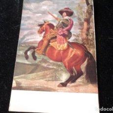 Postales: MUSEO DEL PRADO, EL DUQUE DE OLIVARES. VELAZQUEZ ED. VICTORIA N. COLL SALIETI. Nº 996. Lote 289219983
