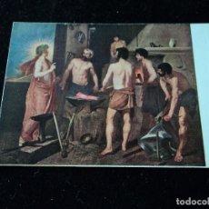 Postales: MUSEO DEL PRADO, LA FRAGUA DE VULCANO. VELAZQUEZ ED. VICTORIA N. COLL SALIETI. Nº 997. Lote 289220298