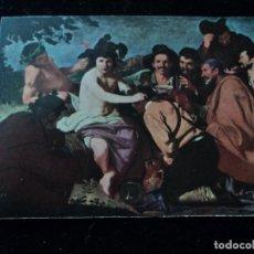 Postales: MUSEO DEL PRADO, REUNION DE BEBEDORES. VELAZQUEZ ED. VICTORIA N. COLL SALIETI. Nº 998. Lote 289220458