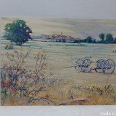 Postales: JOAN COPONS, CARROS DE PALS EMPORDA.. Lote 294027233