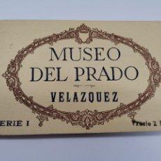 Postales: P-12886. BLOC 20 POSTALES MUSEO DEL PRADO. SERIE I. VELAZQUEZ. HAUSER Y MENET.. Lote 294368928