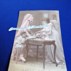 Postales: EL ANGEL GUARDIAN TARJETA POSTAL 1911. Lote 294384913