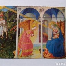 Postales: POSTAL - FRA ANGELICO - MUSEO DEL PRADO MADRID - LA ANUNCIACION. Lote 295630688