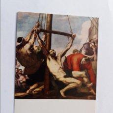 Postales: POSTAL - RIBERA - MUSEO DEL PRADO MADRID - MARTIRIO DE SAN BARTOLOME. Lote 295631123
