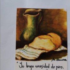 Postales: POSTAL - ZAMORA - OLLA MANTEQUERA - MUELAS DEL PAN. Lote 295802913