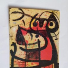 Postales: POSTAL - JOAN MIRO - MUJERES Y PAJAROS - PINTADO - S/C. Lote 295819918