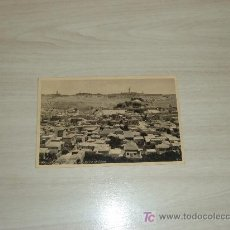 Postales: PALESTINA JERUSALEM GENERAL VIEW AND MOUNT OF OLIVES. Lote 8578143