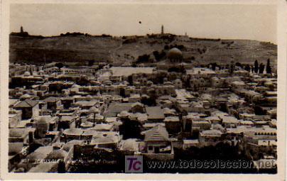JERUSALEM. AND MOUNT OF OLIVES. (Postales - Postales Extranjero - Asia)