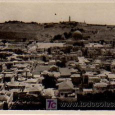 Postales: JERUSALEM. AND MOUNT OF OLIVES. . Lote 6131485