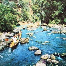 Postales: FILIPINAS: THE RAPIDS OF PAGSAJAN. AÑOS 60. Lote 8223332