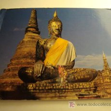Postales: THE BUDDHA IMAGE AT THE ANCIENT RUINED TEMPLE. Lote 11607480