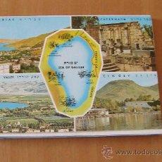 Postales: ISRAEL THE SEA OF GALILEA BOOKLET 10 CARDS. Lote 22887520