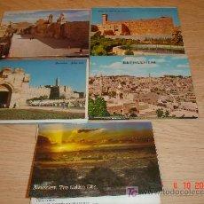 Postales: LOTE DE 47 POSTALES A COLOR DE ISRAEL. Lote 15233097