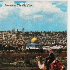 Postales: POSTAL .- JERUSALEN.- ISRRAEL/PALESTINA.- CIUDAD VIEJA DESDE EL MONTE DE LOS OLIVOS . Lote 16736817