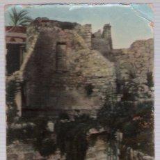 Postales: JERUSALEM.- RUINAS DE LA IGLESIA Y PISCINA BETHESDA.. Lote 16827399